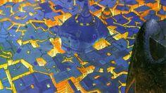Artwork traditional art moebius cities french artist wallpaper | (2981)