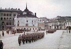 Finnish Victory Parade at Viipuri