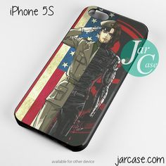 Winter Soldier Phone case for iPhone 4/4s/5/5c/5s/6/6 plus