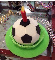 Balon de fútbol tipo pastel