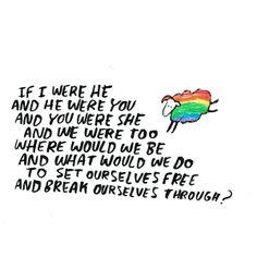 Be yourself! (Dallas Clayton)