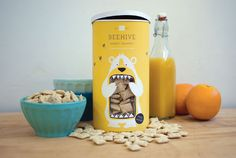 In love with this packaging concept by Lacy Kuhn.