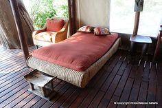 Linyati Bush Camp - Linyanti Safari - Picasa Web Albums Two Twin Beds, Flush Toilet, Comfortable Sofa, Outdoor Furniture, Outdoor Decor, King Size, Albums, Safari, Tent