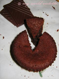 My world-VIOLETTE: Briose cu ciocolata si cocos