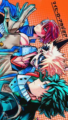 My Hero Academia Shouto, My Hero Academia Episodes, Hero Academia Characters, Hero Wallpaper, Cute Anime Wallpaper, Poster Anime, Deku Anime, Hero Poster, Fan Art