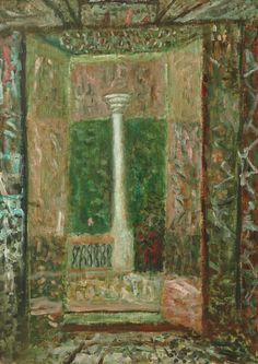 """""""Column"""" by Horia Bernea Art Database, Spirituality, Museum, Texture, Contemporary, Landscape, Abstract, Artist, Painting"""