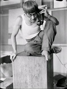MIYAKOIKI - chagalov:   Foujita au téléphone, Paris 1928 -by...