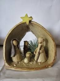 Wonderful No Cost clay ornaments family Strategies Keramikkrippe Steinzeug Santiago Chile – Gres – Retro Christmas Decorations, Bird Christmas Ornaments, Christmas Clay, Clay Ornaments, Christmas Crafts, Christmas Ideas, Clay Projects For Kids, Clay Crafts For Kids, Ceramic Angels