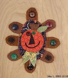 #0062-Pumpkin Penny Rug-Pattern Packet