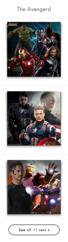 """The Avengers!"" by asia-12 ❤ liked on Polyvore featuring art"