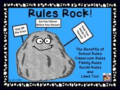 Social Story: Discusses the importance of rules as well as different types of… Rules And Laws, 3rd Grade Social Studies, Coding For Kids, Family Rules, Classroom Rules, Social Stories, Social Skills, Problem Solving, Teaching Kids