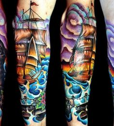 Incredible nautical piece, Stunning color! Pretty much the colors I want in my phoenix!