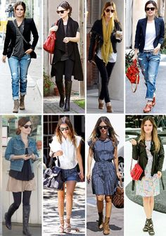 If I could have any celebrities closet and style...I want Rachel Bilson's!!