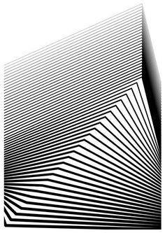 Black Building - Limited Edition 5 of 50 Artwork Simple Art Designs, Black Building, Tape Art, Digital Print, Black White Pattern, Pictures To Paint, Teaching Art, Geometric Designs, Art Techniques