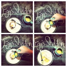 Eggs Sheldon! Like Eggs Benedict, but better.
