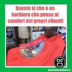 Quando un #barbiere ha una marcia in più! #bastardidentro #cellulare #ipnoticamentebastardidentro www.bastardidentro.it