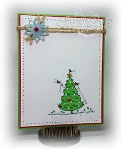 Glitter in my Hair, a day for daisies, adfd, digi, dressed up for christmas, cas christmas card, cas stamping, cas