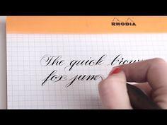 Online Calligraphy Class - I Still Love Calligraphy - Melissa Esplin's online calligraphy class is fabulous. Brush Pen Calligraphy, Calligraphy Drawing, Calligraphy Words, How To Write Calligraphy, Penmanship, Brush Lettering, Calligraphy Classes, Modern Calligraphy, Bullet Journal Hand Lettering