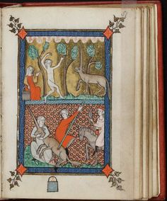 Bride and unicorn, Rothschild Canticles