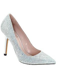Vince Camuto Harty holographic shoes with iridescent heel. THESE ARE AMAZING and so sparkly on. 4 men stopped me at the movies yesterday to say they liked my shoes. I got them in black, too. They were $25 each at Dillard's!