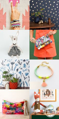 Shop Small Makers.  Lessons Learned/From My Favorite Makers. Oh Joy.