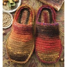 Crochet Slippers, maybe for my man