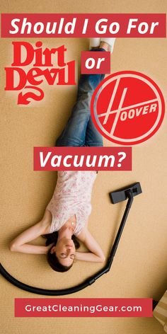 Should I Go For Dirt Devil or Hoover Vacuum? Considering the benefits of Dirt Devil vs Hoover vacuums. We compare the top models of each manufacturer to find which one provide more features. Best Upright Vacuum Cleaner, Carpet Cleaner Vacuum, Best Vacuum, Laminate Flooring Cleaner, Cleaning Tile Floors, Floor Cleaning, Wood Flooring, Deep Cleaning Tips