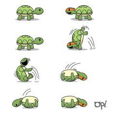 Tortuga ninja #opi #cut #kawaii #illustration #ilustración #tortuga #ninja Cute Turtles, Ninja Turtles, Kawaii Turtle, Turtle Book, Funny Minion Memes, Turtle Pattern, Tortoise Turtle, Kawaii Illustration, Cute Animal Drawings