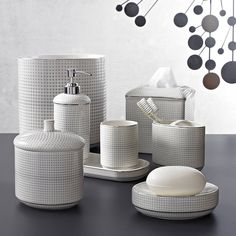 Crillon by Kassatex | Shop Porcelain Bath Accessories | Kassatex