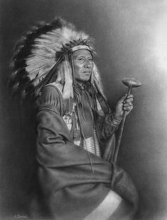 Luke Big turnips - Blackfoot Chief n. Native American Photos, Native American History, American Indians, American Symbols, Blackfoot Indian, Native Indian, Indian Art, Geronimo, Inka