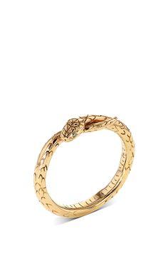 Snake Stackable Ring by Bibi van der Velden for Preorder on Moda Operandi