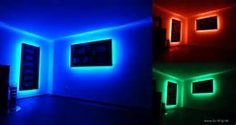 Image result for LED Strip Light Room Lighting Ideas