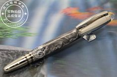 New design Luxury Marble black blance brand pen with mb refill Roller Ball Pen-office Writing gift ball point pen