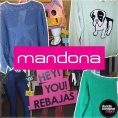 Te presentamos una nueva marca que nos va a acompañar para sentirnos espléndidas siempre. Mandona, conocela: www.dondecomprarmejor.com/mandona