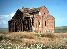Ani, capital city of Armenia 961-1045 AD. In ruins since the 1700s. This is Ani Cathedral (989-1001 AD)