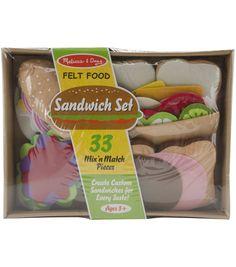 Felt Food Set-SandwichFelt Food Set-Sandwich,