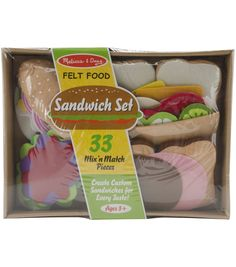 Felt Food Set-SandwichFelt Food Set-Sandwich,