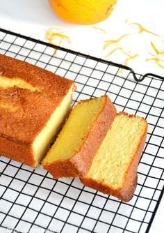 Fragrant, moist, and tender Orange Pound Cake flavored with freshly squeezed orange juice and orange zest. Sponge Cake Recipes, Pound Cake Recipes, Orange Recipes, Sweet Recipes, Recipes With Oranges, Orange Sponge Cake, Baking Recipes, Dessert Recipes, Bolos Low Carb