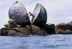 Weird World Wonders: Split Apple Rock, New Zealand
