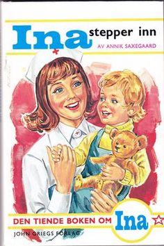 """Ina stepper inn"" av Annik Saxegaard Reading, Books, Fictional Characters, Libros, Book, Reading Books, Fantasy Characters, Book Illustrations, Libri"
