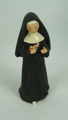 Moon faced missy nun