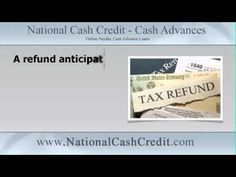 Waiting for tax refund? Get it fast with a tax anticipation loan. Watch to find out how. #TaxRefund #GetItFast