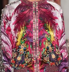 patternprints journal: PATTERNS, PRINTS, TEXTURES AND SURFACES INTO S/S 2017 FASHION COLLECTIONS / NEW YORK 4 - Custo Barcelona