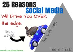 25 Reasons Working In Social Media Will Drive You Over The Edge | B Squared Media // B² Blog