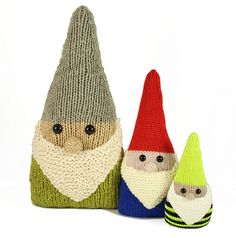 Ravelry: Gnome Nuggets free pattern by Rebecca Danger