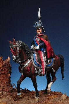 Lanciere polacco della guardia imperiale francese