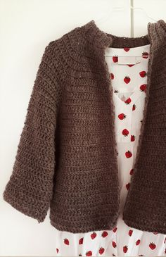 Crochet Fashion, Craft Work, Knit Crochet, Knitting, Sewing, Sweaters, Outfits, Inspiration, Threading