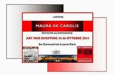 "Il Magazine di UT: Maura De Carolis vola al ""Caroussel du Louvre"". L'artista di Pedaso a Parigi"