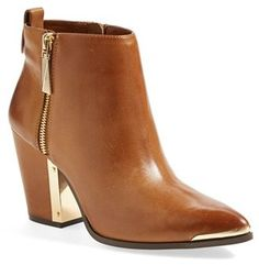 Vince Camuto 'Amori' Pointy Toe Leather Bootie (Women)