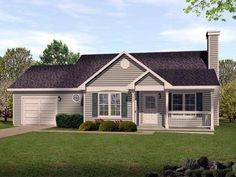 Small Ranch House Plans image of sutherlin small ranch house plan Ranch Traditional House Plan 45105